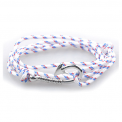 bracelet paracorde hook white