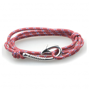 bracelet paracorde hook red