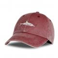 cap shark red
