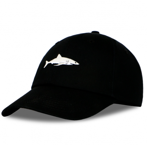 cap shark black