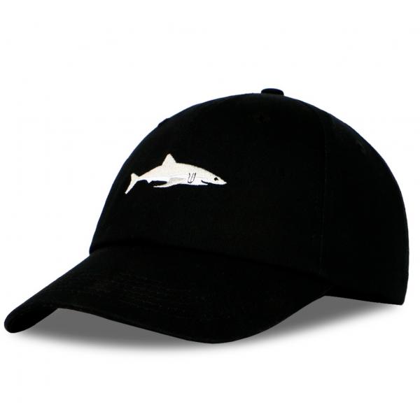 cap shark black