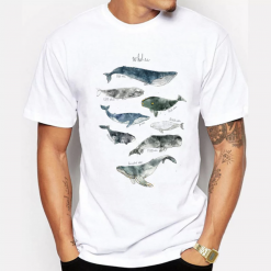 whale lovers tshirt