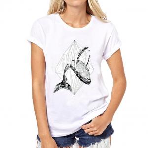 whale tshirt women