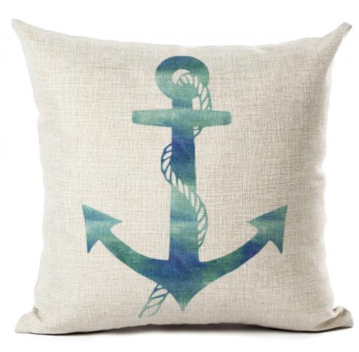 cushion cover anchor linen