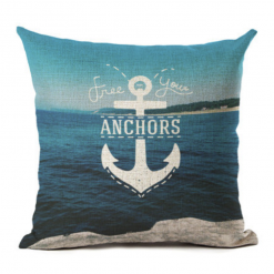 cushion cover anchor sea