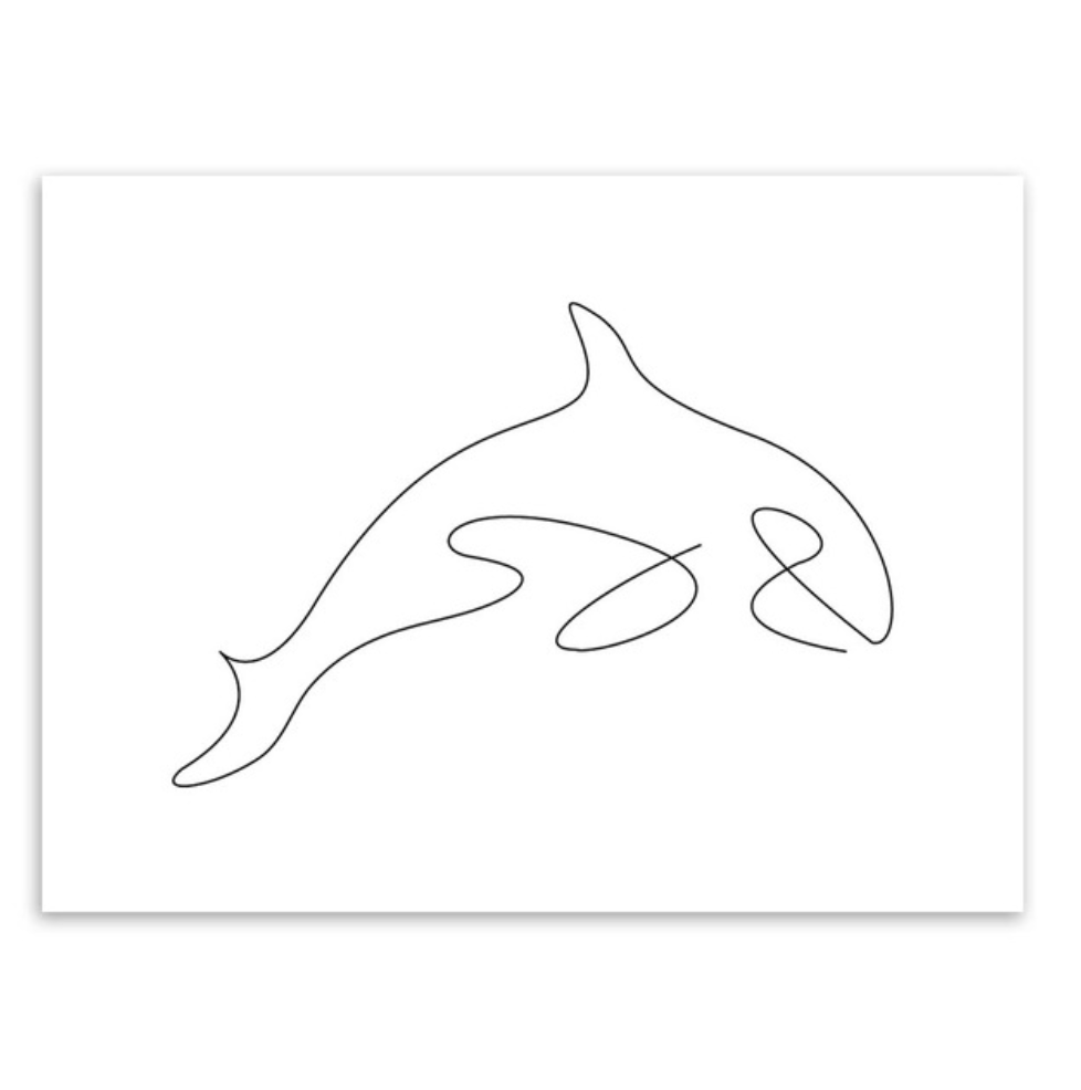orca poster picasso