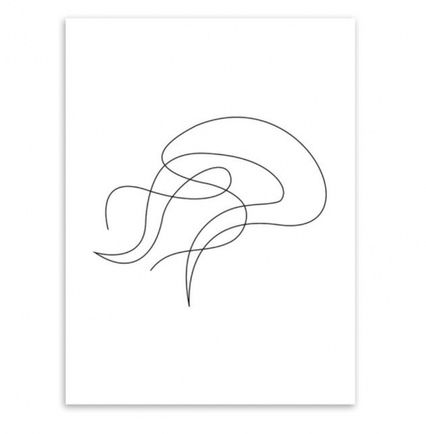 jellyfish poster picasso