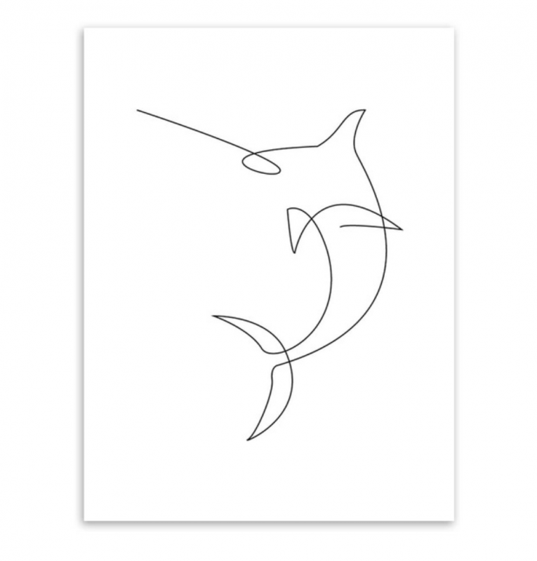 swordfish picasso poster