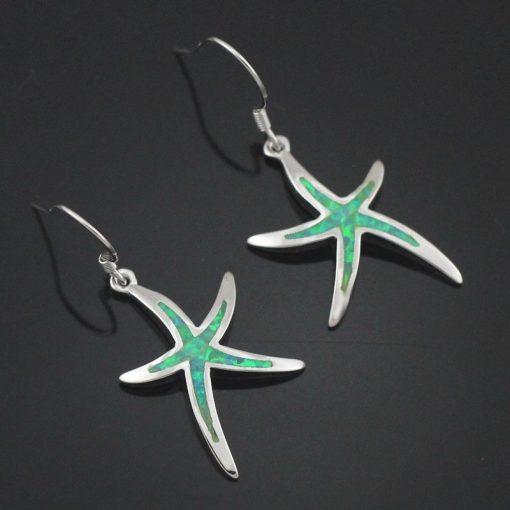 starfish earring light