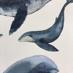 draw watercolor whales