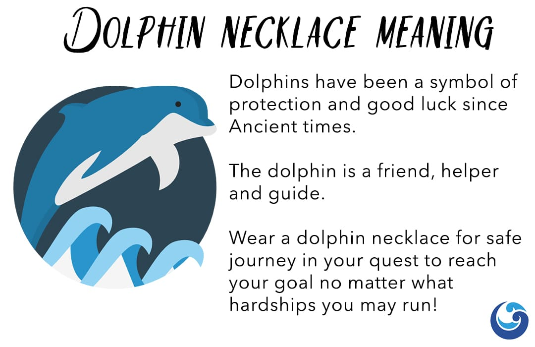 Dolphin necklace meaning