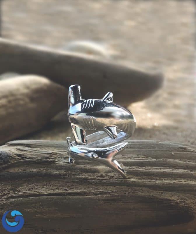 hammerhead shark-ring
