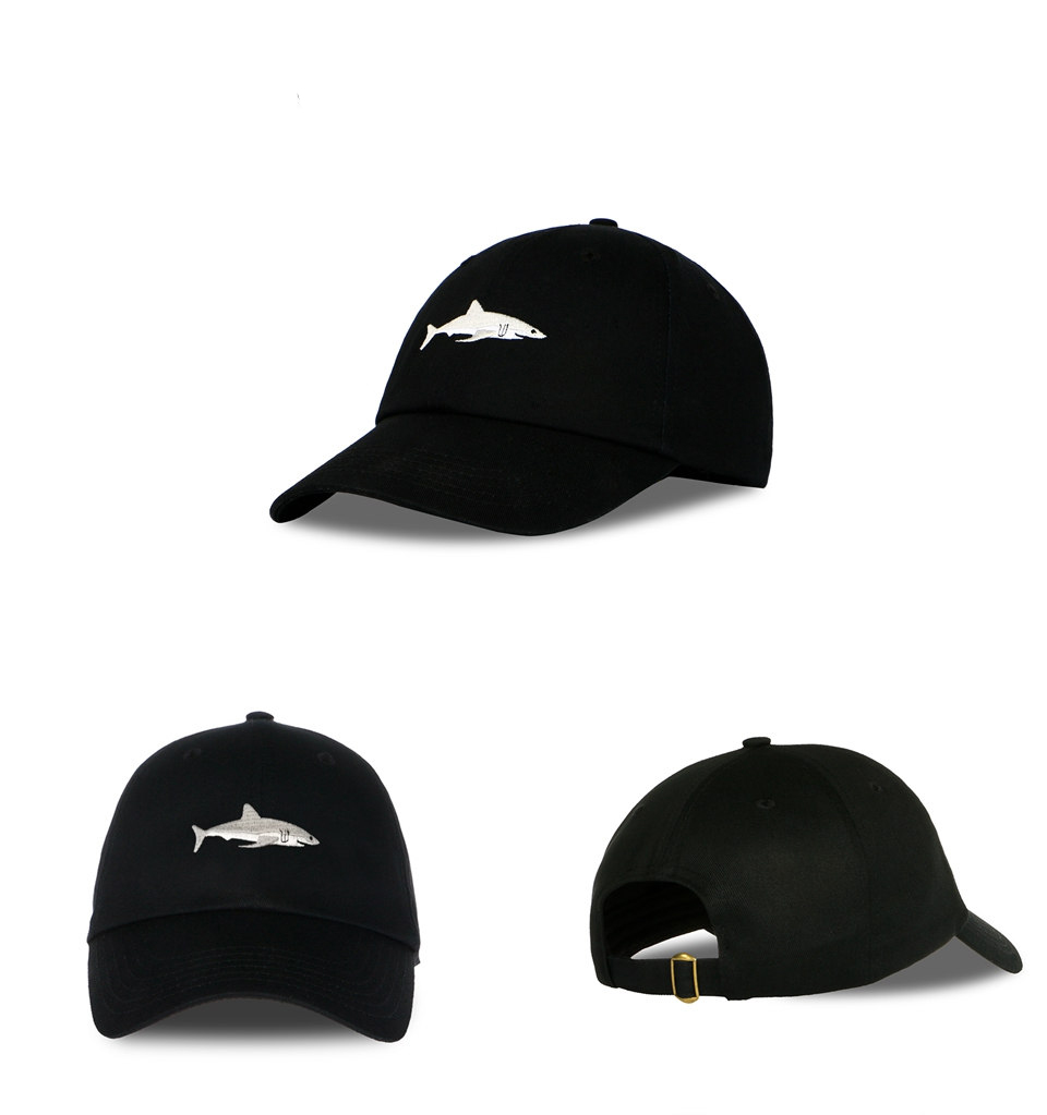 black shark cap