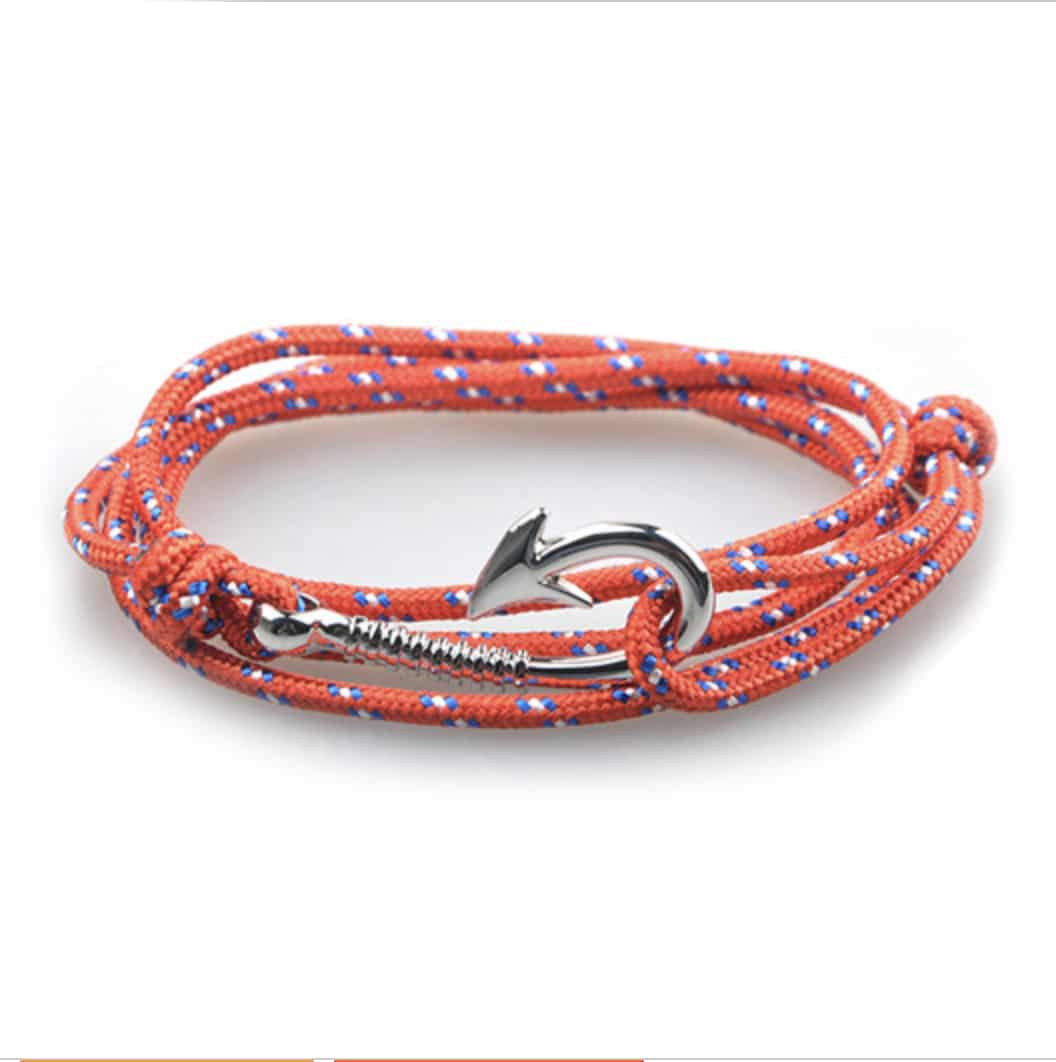 new fin products apparel hook bracelets aquatica fish chasing bracelet