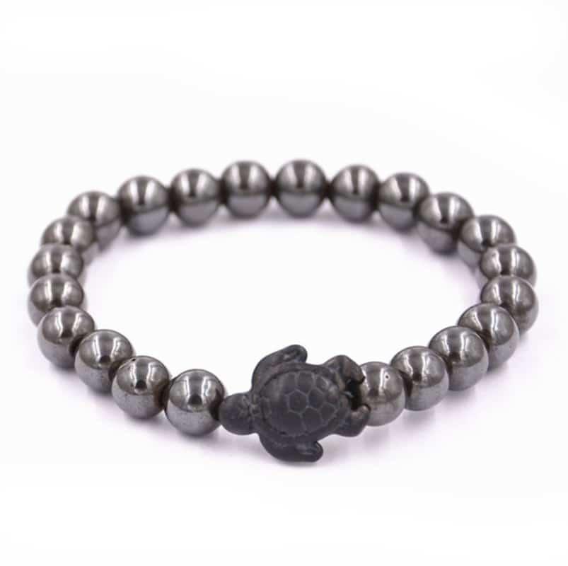 nacre sea turtle bracelet
