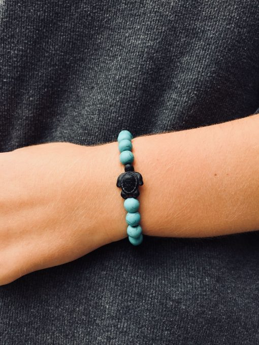 save sea turtle bracelet