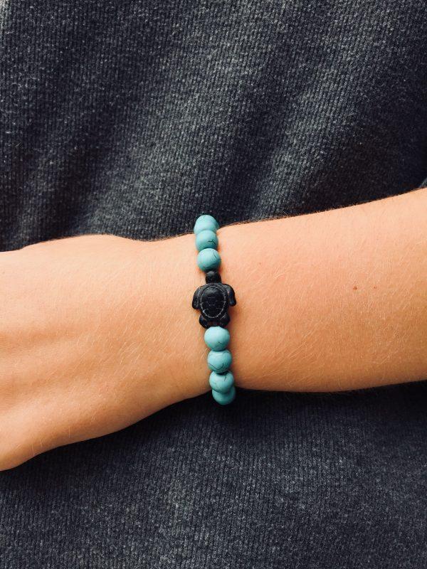save sea turtle bracelet