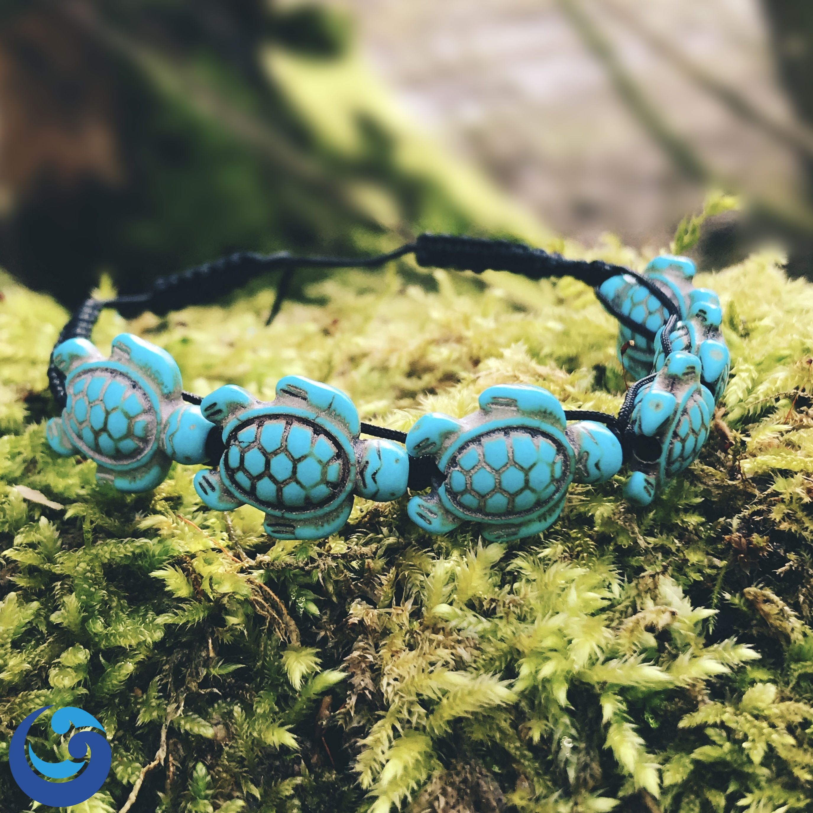 turtle sea grab bracelet gear leather my genuine product
