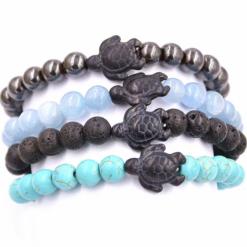 turtle pearl bracelet