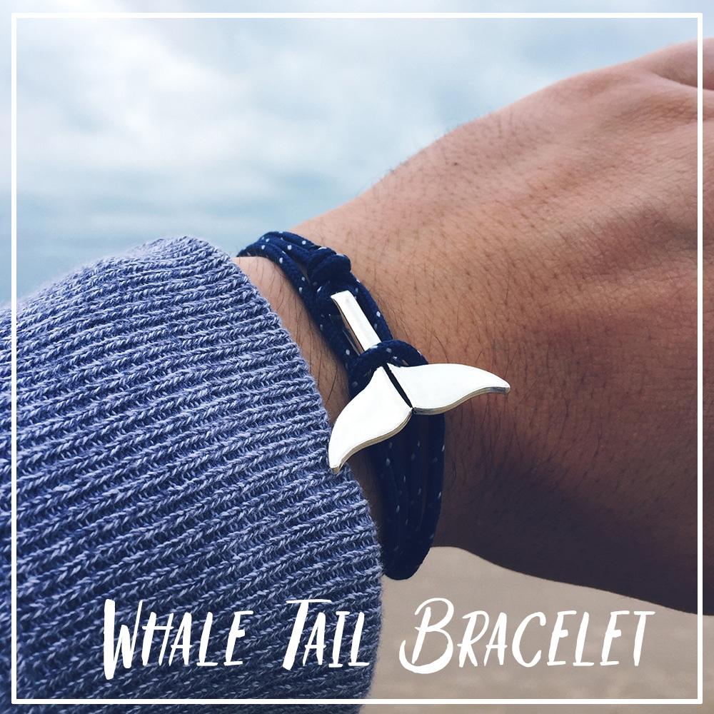 Save whale bracelet