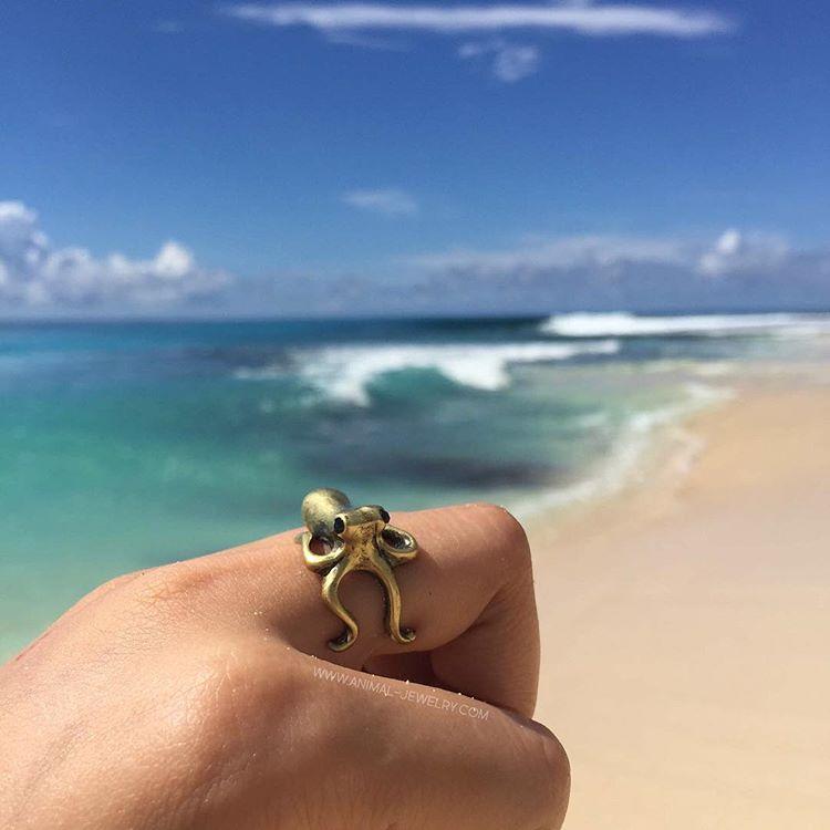 Octopus wrap ring