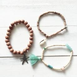 ocean lover bracelet set
