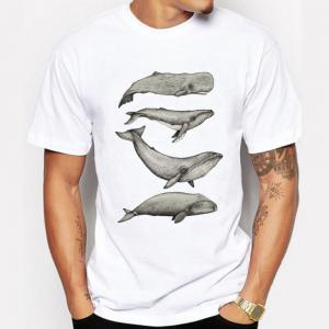 whale lovers tshirt