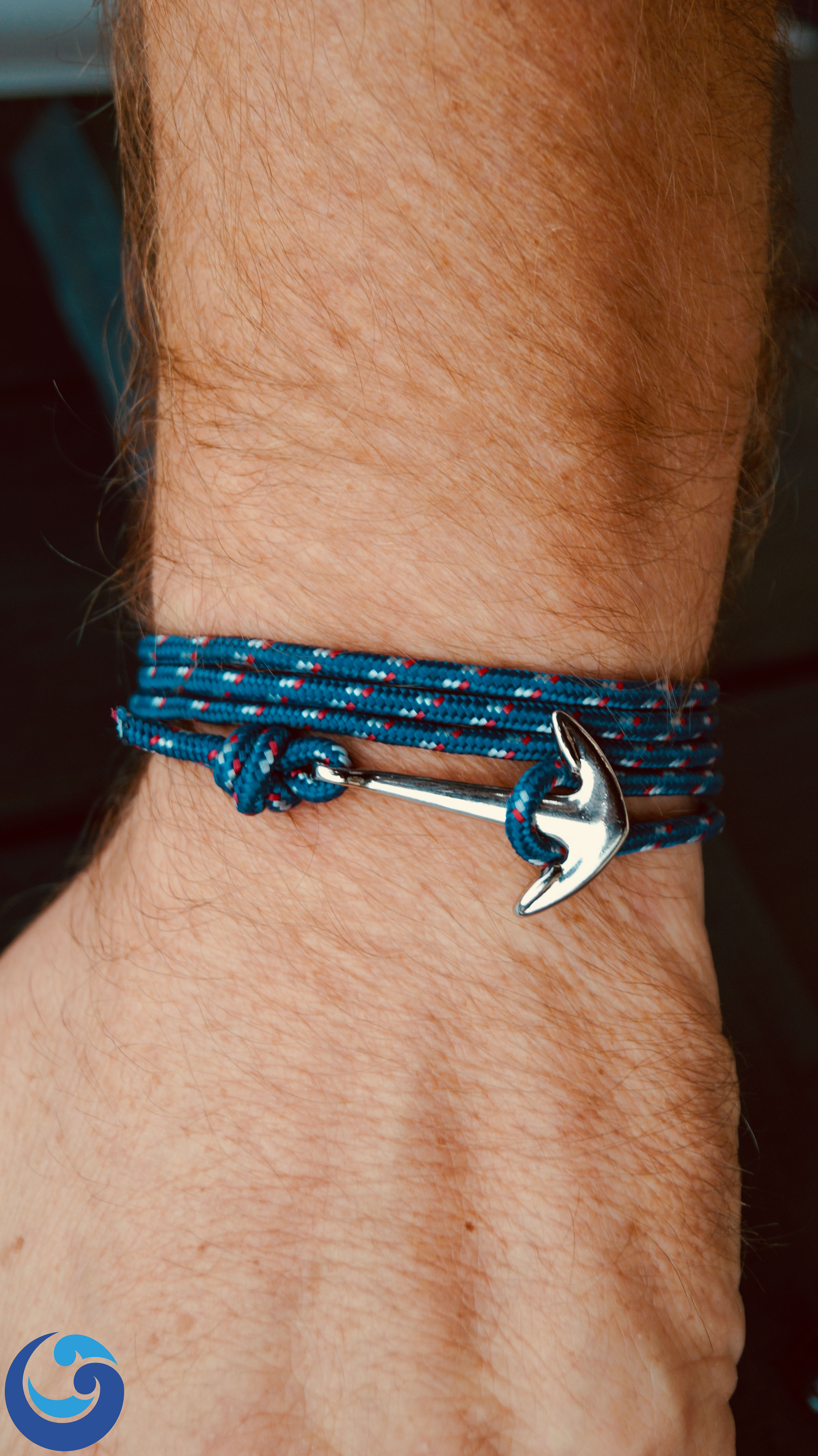 Maritime Anchor Bracelet Passport Ocean