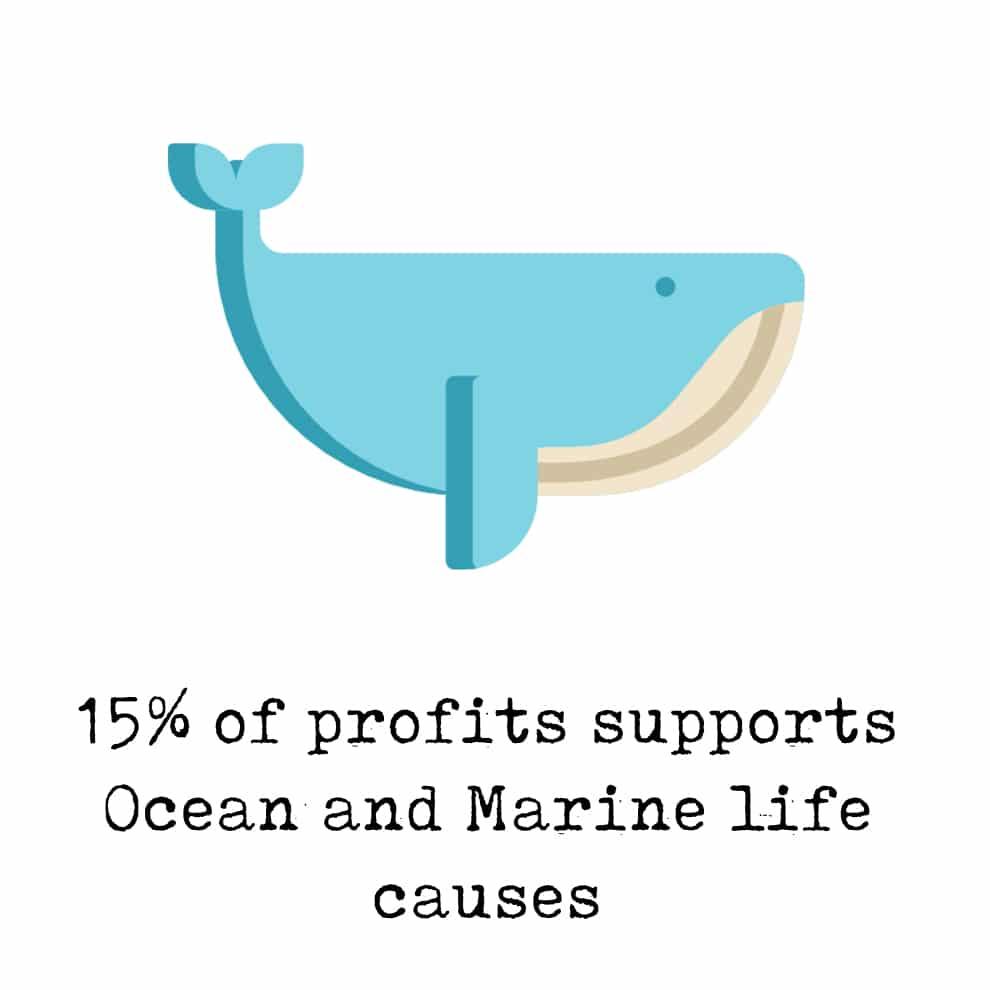 Save whales bracelet