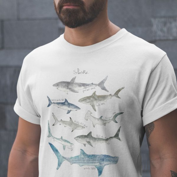 sharks-tshirt-men