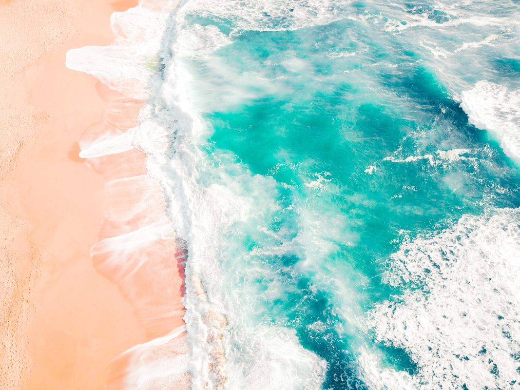 sea from above