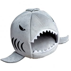 cat bed shark