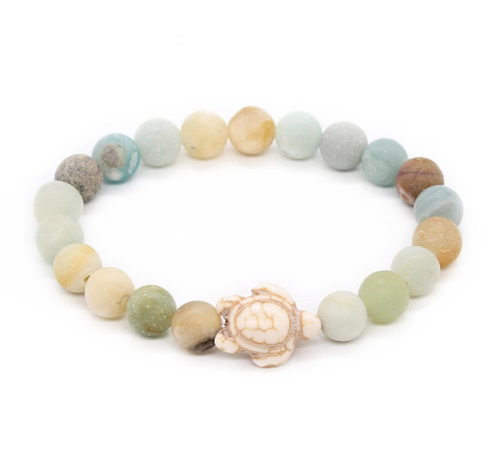 image quartz of bracelet with nauticalwheeler sea green product turtle