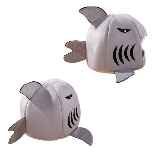 shark cat bed