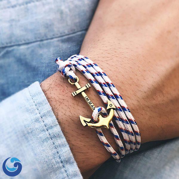 white-bronze-anchor-bracelet