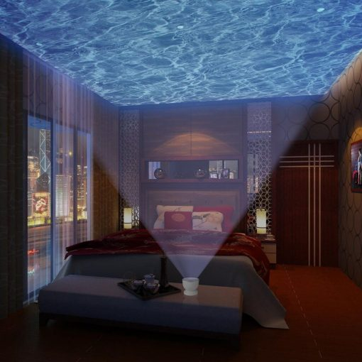Ocean wave projector