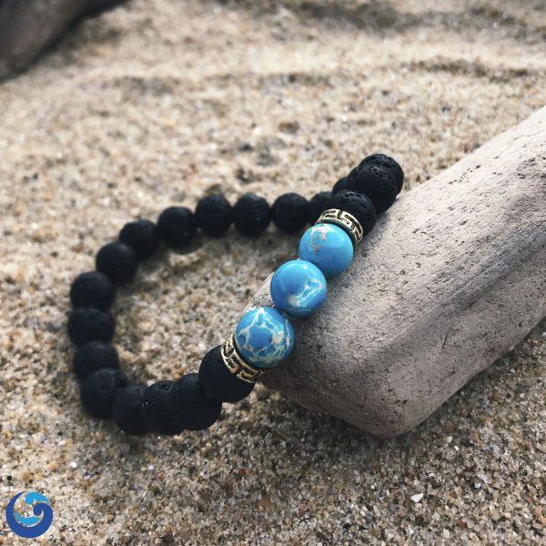 blue topaz bracelet -save oceans