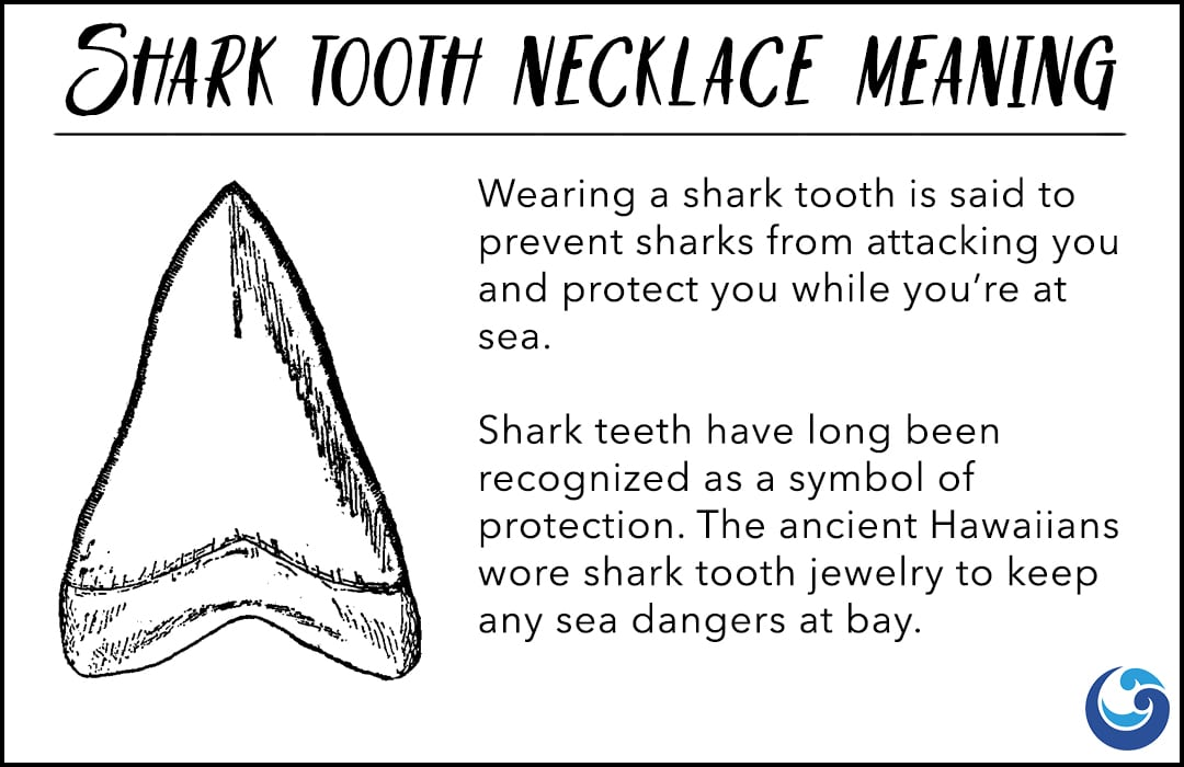 shark tooth necklace meaning