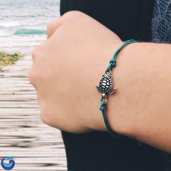 Baby sea turtle bracelet
