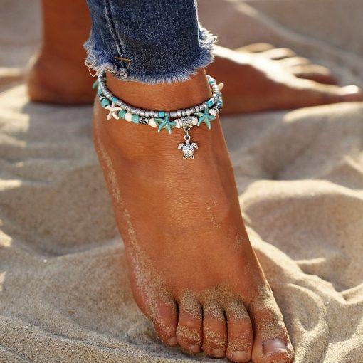 Summer Ocean Anklet