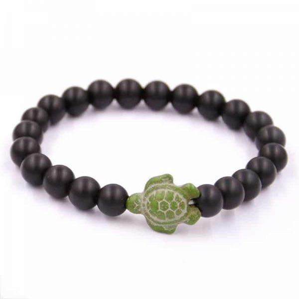 beaded sea turtle bracelet