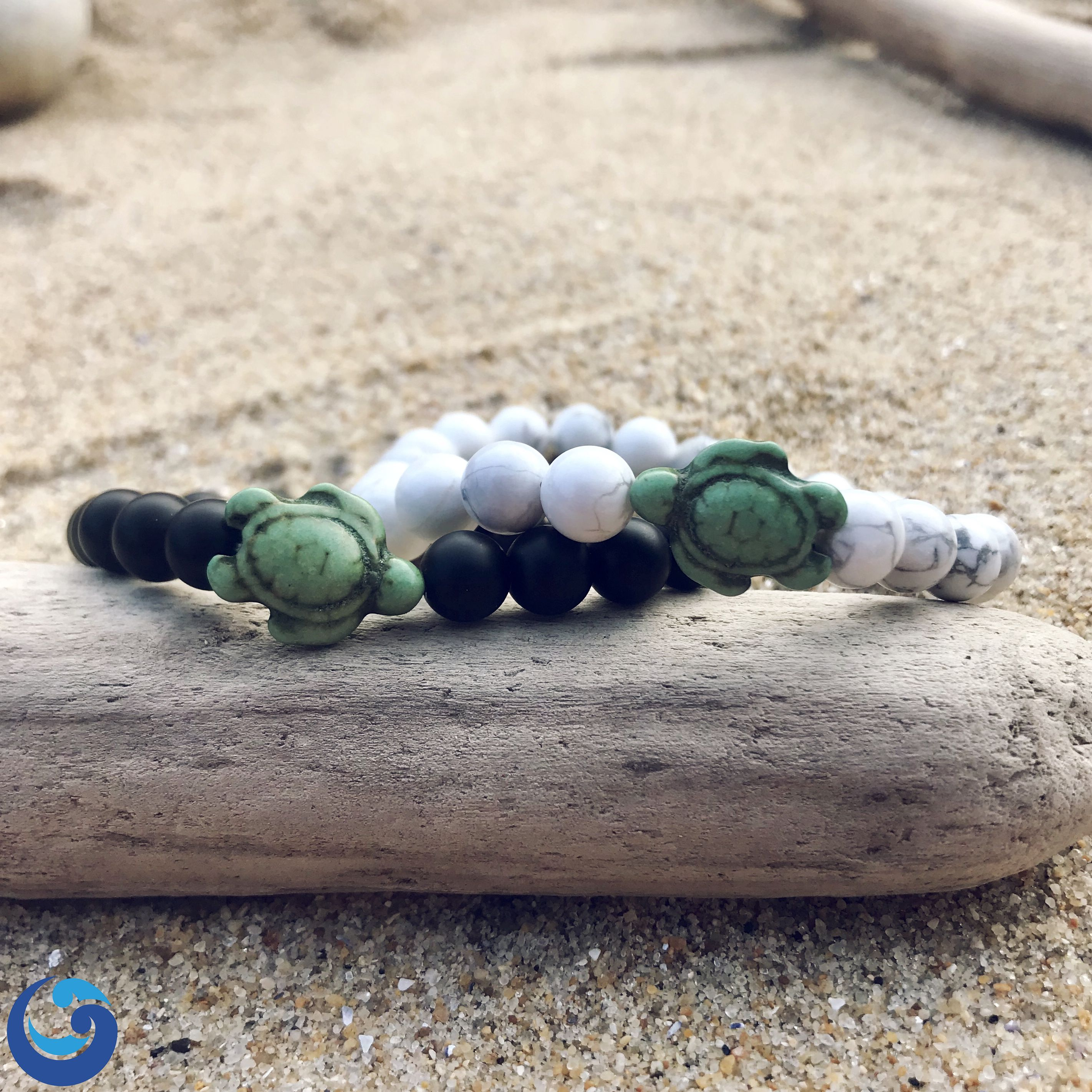 turtle bracelet devocean with co hemp products turquoise