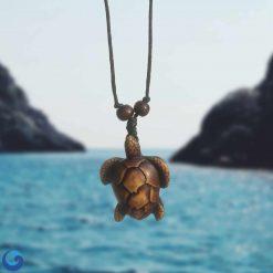sea turtle maori necklace