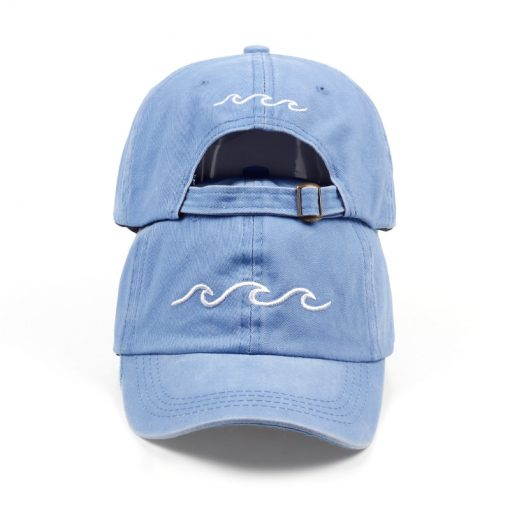 Blue Dad hat wave