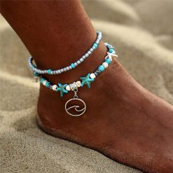 Surf girl anklet