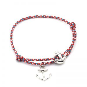 Multicolor paracord anchor bracelet