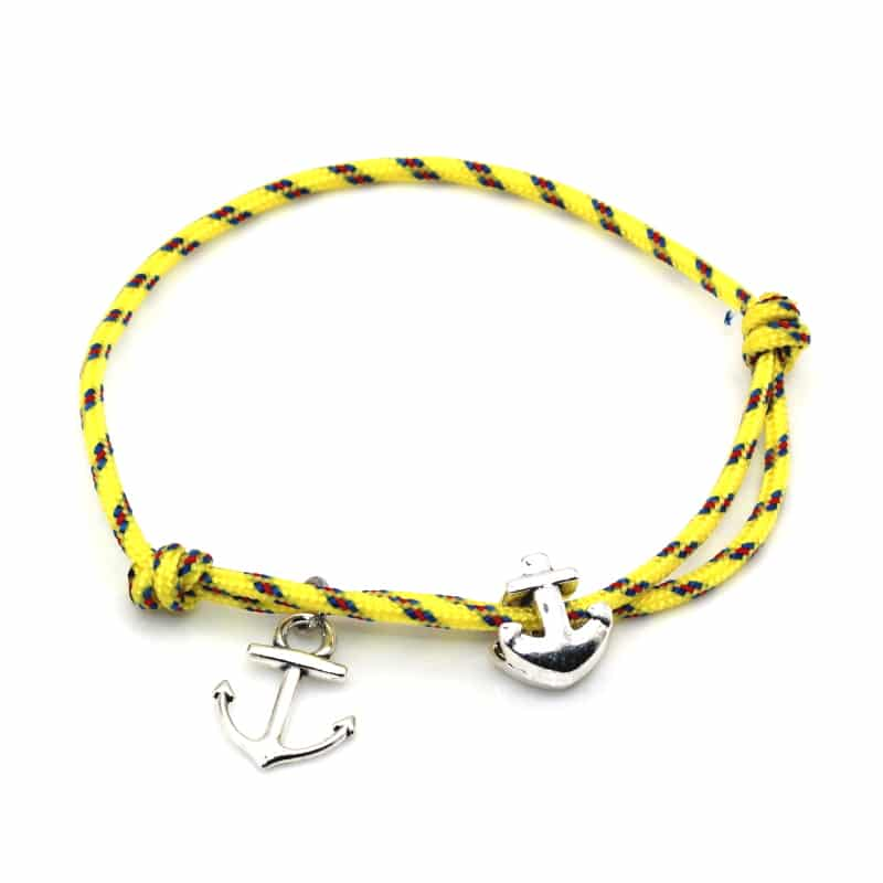 adjustable anchor bracelet