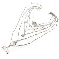 Ocean layered pendant