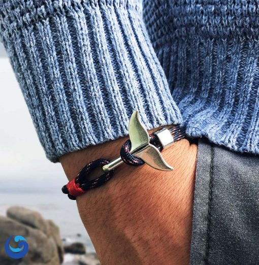 Save the whales bracelet