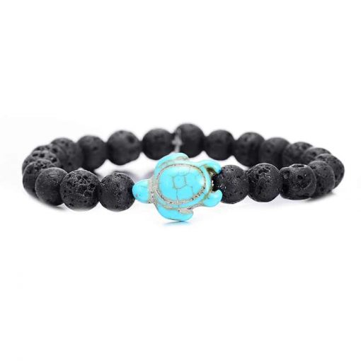 black sea turtle bracelet
